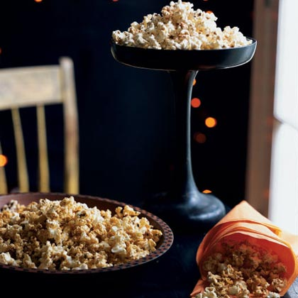 Maple-Chile Popcorn Recipe