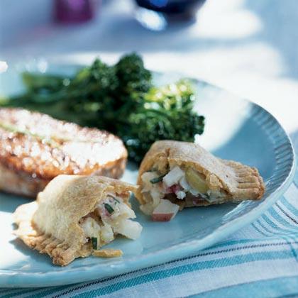 Bacon, Potato, and Leek Turnovers Recipe