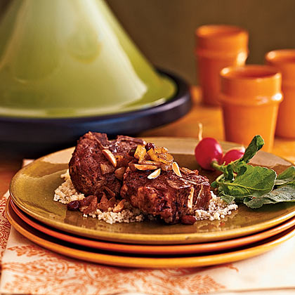 Tagine of Lamb With Caramelized Onions Recipe