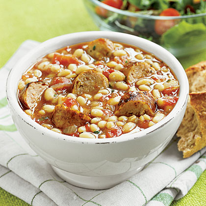 White-Bean and Sausage Stew