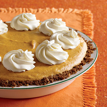 Pumpkin Chiffon Pie Recipe | MyRecipes