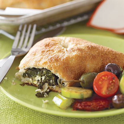 Mediterranean Spinach Pies Recipe