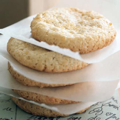 At less than 50 calories each, these fragrant Italian cookies are a sophisticated choice for anyone watching their waistline. Include them in a gift basket with a pound of Italian-roast coffee beans.Recipe:Amaretti