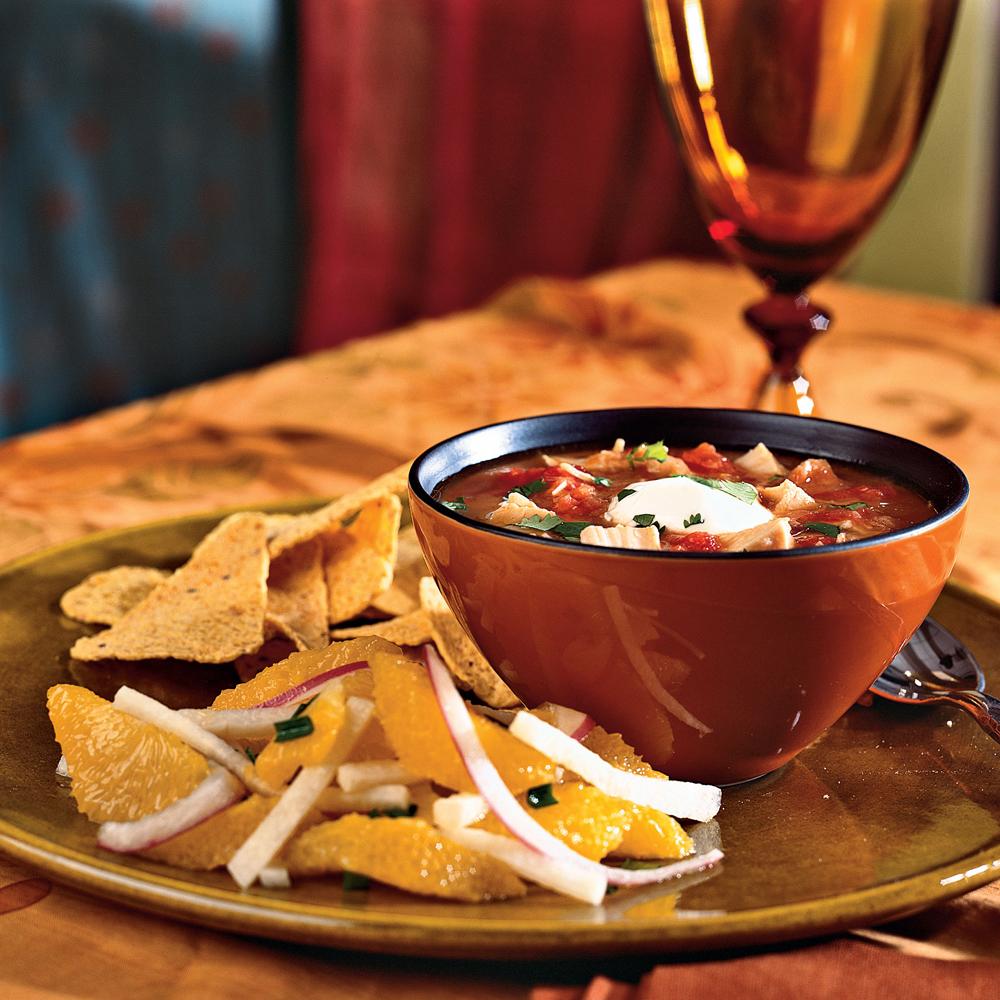 Chipotle Chicken and Tomato Soup Recipe MyRecipes