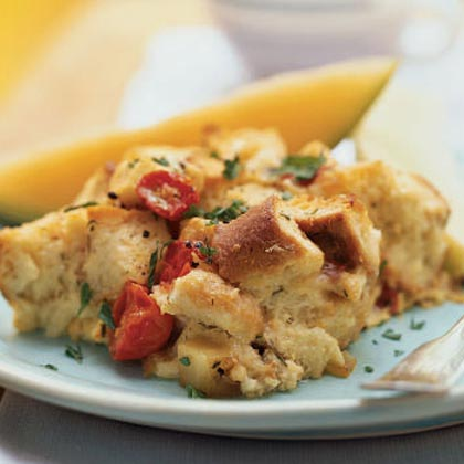 brie and egg strata - Strata Egg Dish