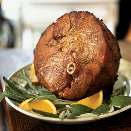 Marsala-Glazed Ham