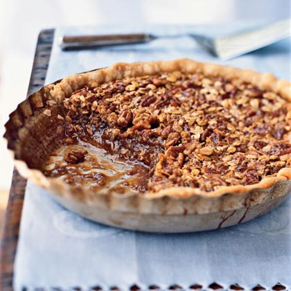 Oatmeal Pecan Pie Recipe | MyRecipes