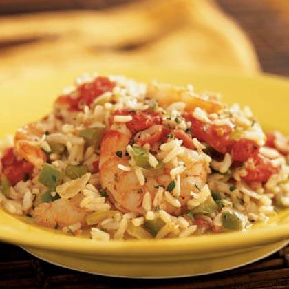 Lowcountry Shrimp Pilaf