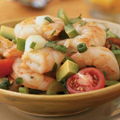 Yucatán Shrimp Cocktail Salad