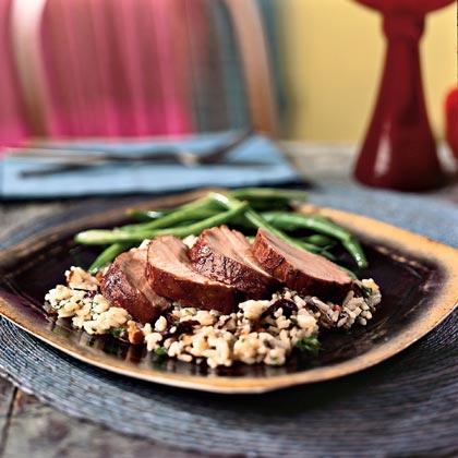 Pork Tenderloin with Pomegranate GlazeRecipe