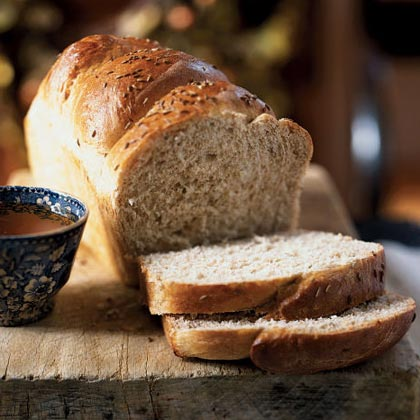 Whole Wheat Bread with Caraway and Anise Recipe