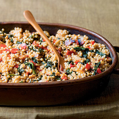 Couscous-and-Spinach Stuffing Recipe