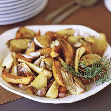 Oven Roasted Fall Vegetables Recipe Myrecipes