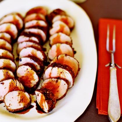 Spice-rubbed Pork TenderloinsRecipe