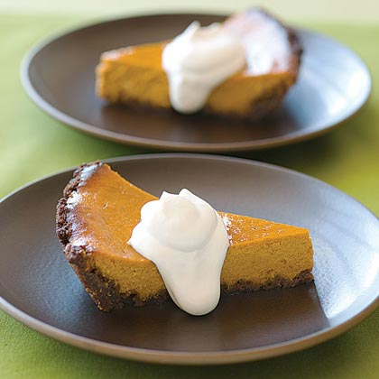 Pumpkin-Orange Mascarpone Pie