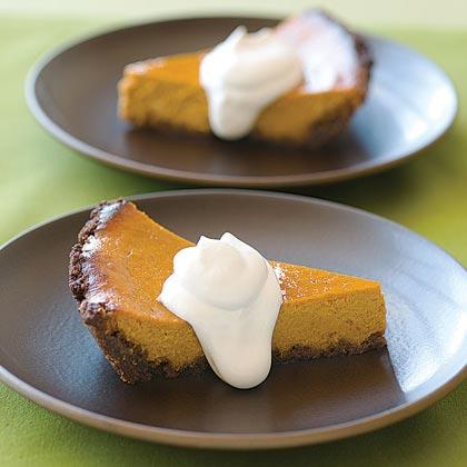 Pumpkin-Orange Mascarpone Pie Recipe | MyRecipes.com