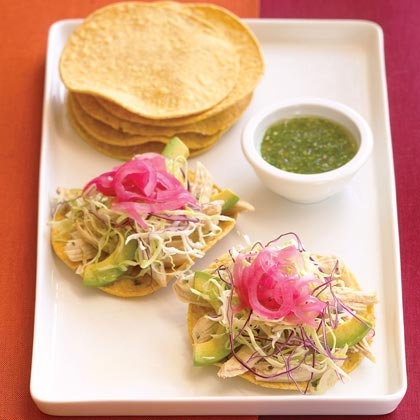 Yucatecan Tostadas (Salbutes)Recipe
