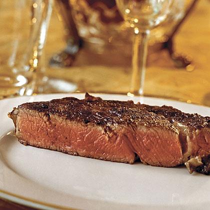 Grilled Rib-eye Steaks