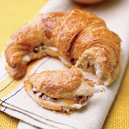 Pecan-Apricot-Cream Croissants