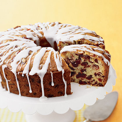 Fresh Orange-Cranberry Pound Cake