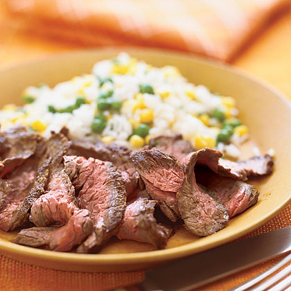 Spicy Steak and Rice
