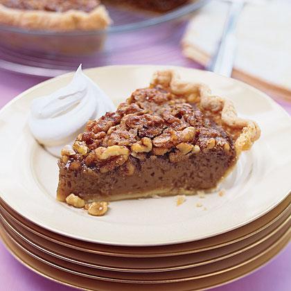 Caramel Walnut Pie