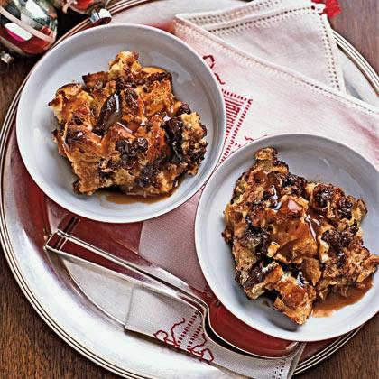 Chocolate Bread Pudding With Caramel SauceRecipe