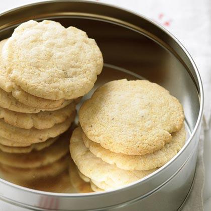 Cornmeal-Fennel Cookies Recipe