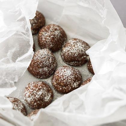 Chocolate Hazelnut Domes