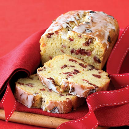 Cranberry-Orange Bread with Grand Marnier GlazeRecipe