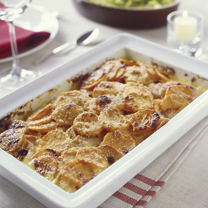 Sweet-Potato Gratin Recipe