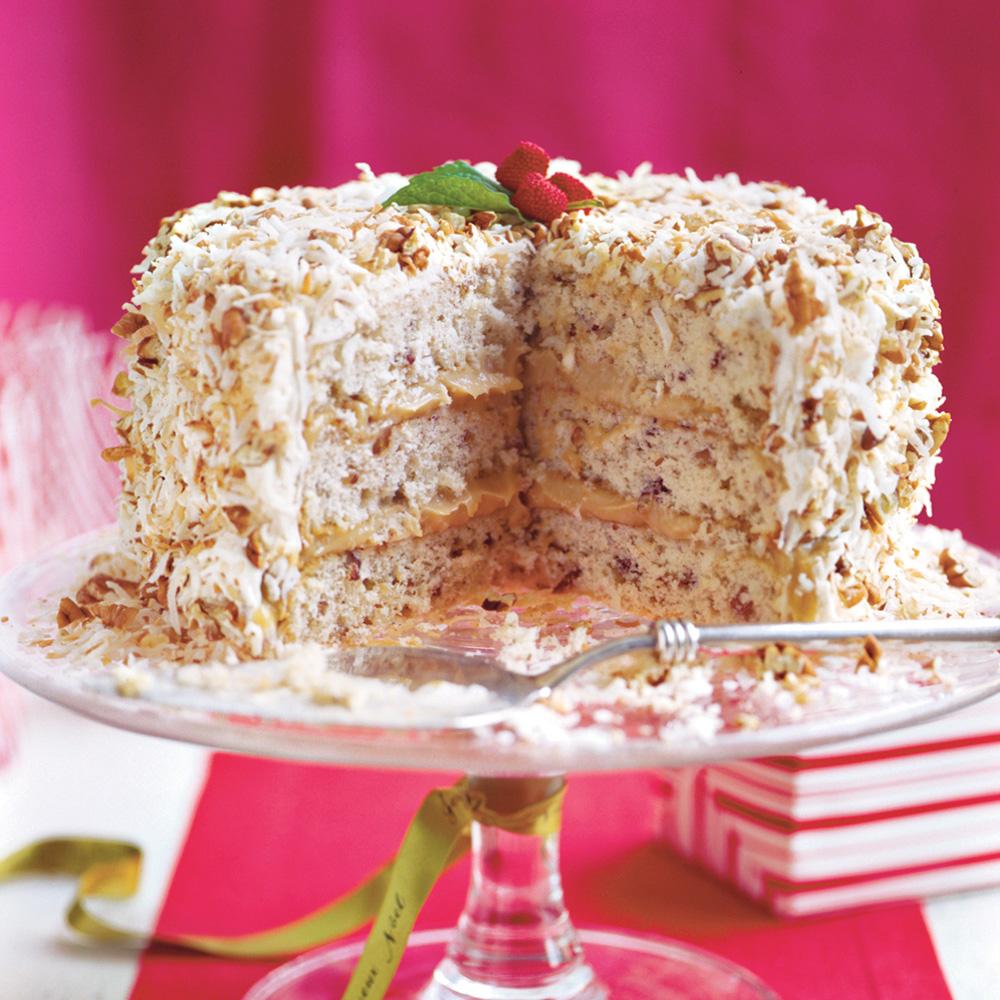 Caramel Cream Cake Recipe MyRecipes