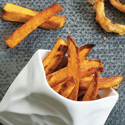 Spicy Roasted Sweet Potato Fries Recipe