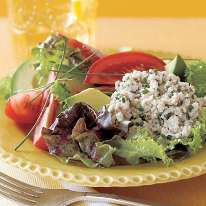 Crab Salad with Avocado and Tomato