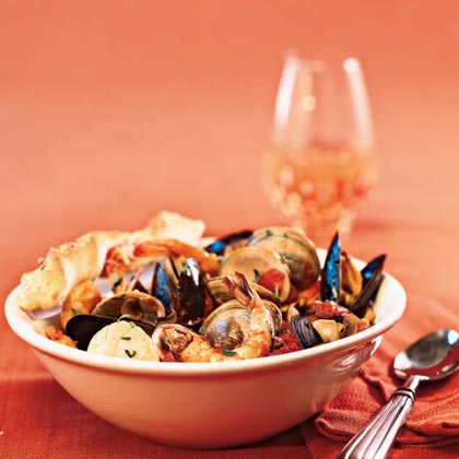 Quick Seafood Cioppino