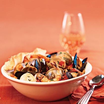 Quick Seafood CioppinoRecipe