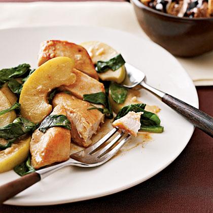 apple-spinach-chicken Recipe