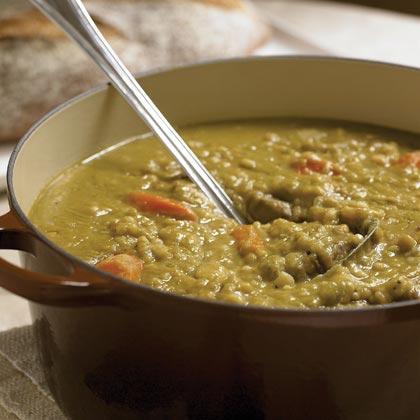Split Pea, Beef, and Barley Soup