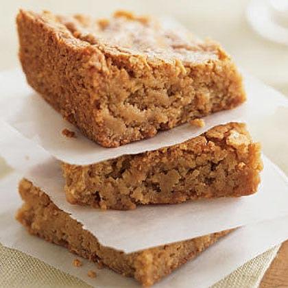 Butterscotch Blondies Recipe | MyRecipes