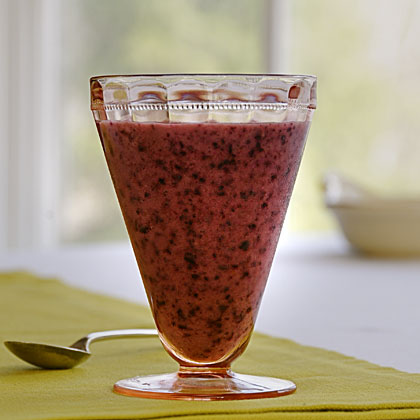 Blueberry-Passion Fruit Smoothie