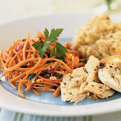 Quick Carrot and Raisin Salad