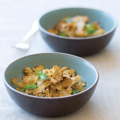 Roasted Curry Cauliflower Recipe