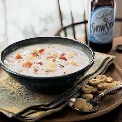 Chowder recipes myrecipes for Healthy fish chowder
