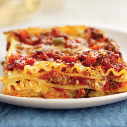 Lasagna with Sausage Ragù Recipe | MyRecipes.com