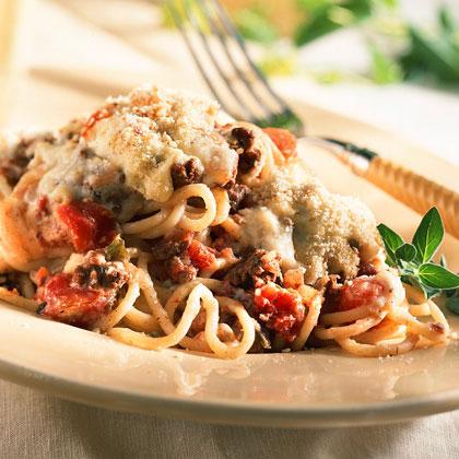 Mediterranean Spaghetti Recipe