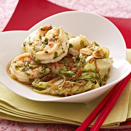 Spicy Wok Seared Shrimp