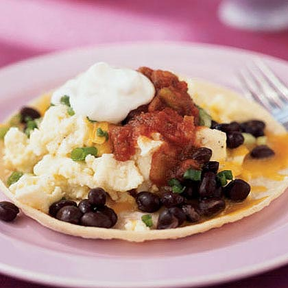 Quick Breakfast Tostada
