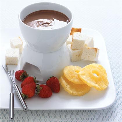 Chocolate Bar FondueRecipe