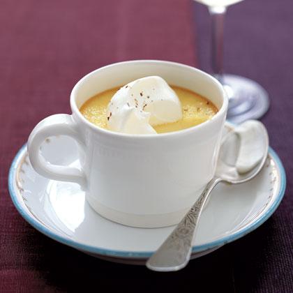 Eggnog Custard Recipe | MyRecipes