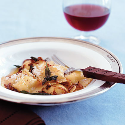 Ravioli with Brown Butter and Sage RecipeMake an easy pasta recipe that calls for fresh ravioli and an easy pan sauce.